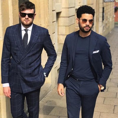 Looking after each other's tailoring #hair #clothes @birminghamtailors